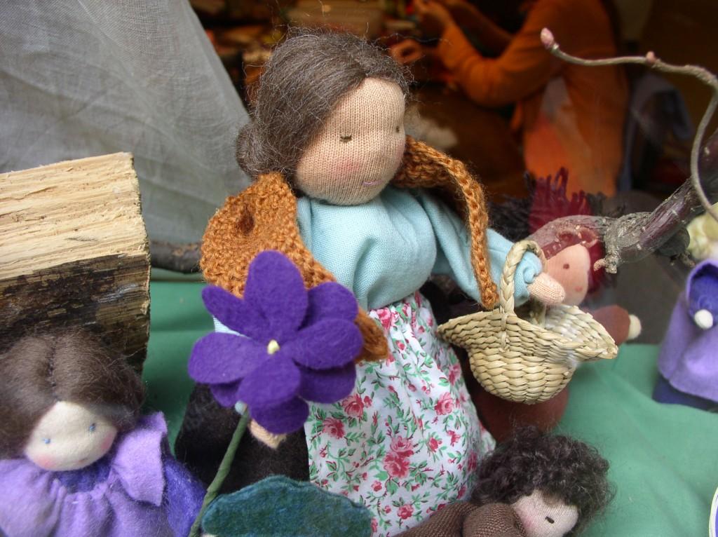 Puppe Bastelstube