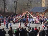 Volkstänze entlang der Balkanroute