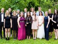 Waldorfschule feiert ihre Abiturienten.