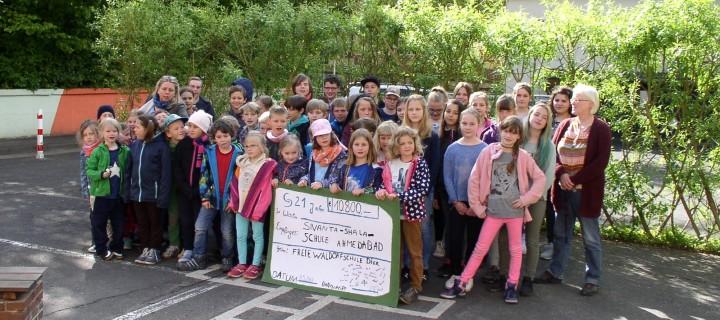 Waldorfschule Diez unterstützt Schulprojekt in Indien.