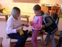 """Das Konzept des """"bewegten Klassenzimmers"""" jetzt auch in der zweiten Klasse."""
