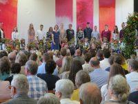 Waldorfschule feiert die neuen Erstklässler 2019